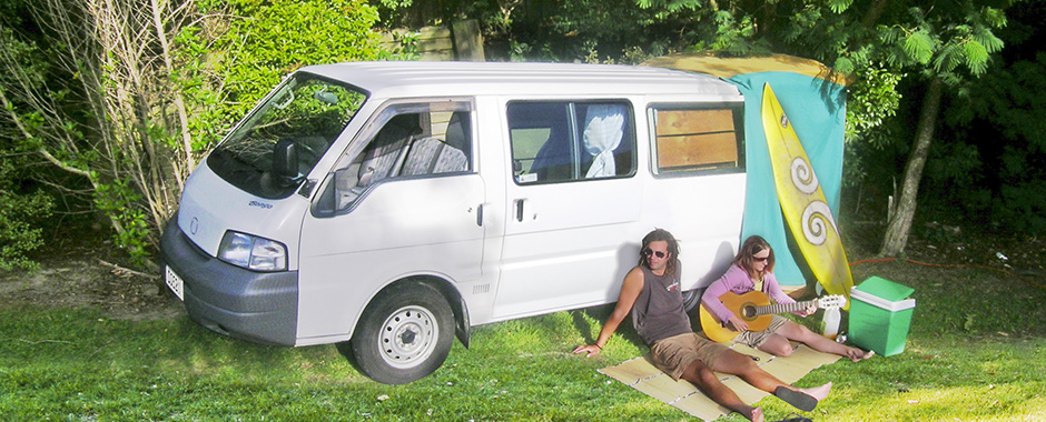 Campervan hire New Zaland